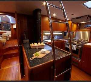 Yacht MAGRATHEA -  Galley