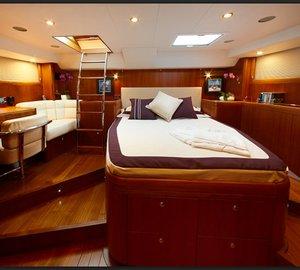 Yacht MAGRATHEA -  Master Cabin