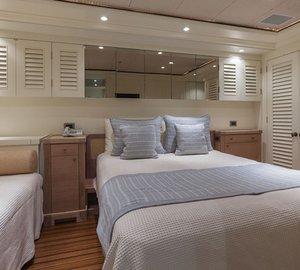 Yacht PERLE BLEUE  - Guest Cabin 1