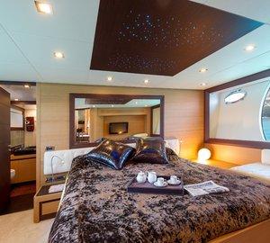 Yacht SHALIMAR 22m - Master Cabin