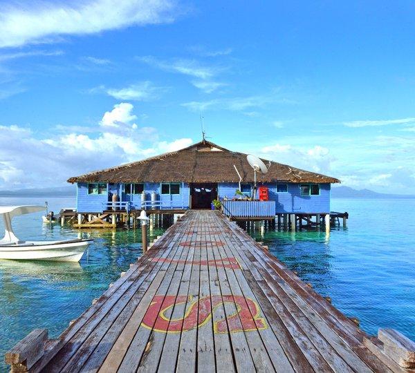 Solomon Islands Beach: Update On 147′ Cheoy Lee Motor Yacht Dorothea 3 Refitted