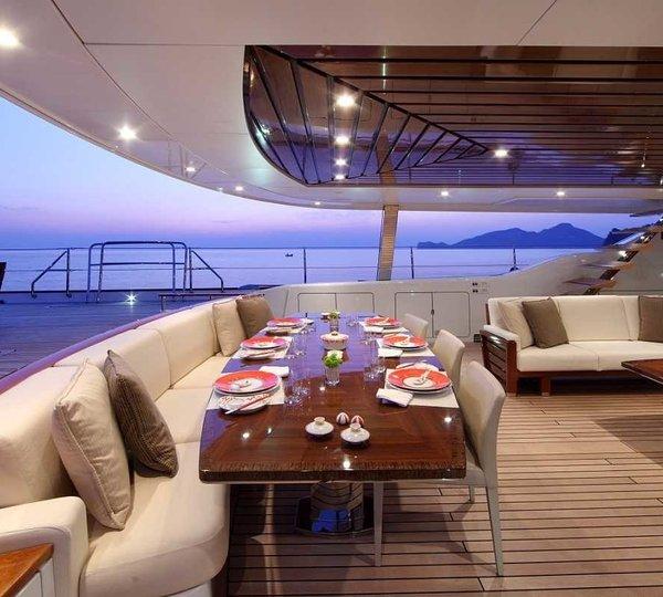 Cockpit Furniture On Yacht PRANA