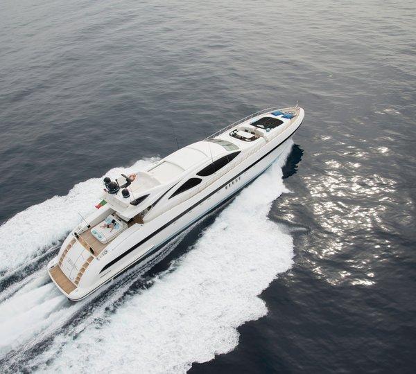 Pro Race Aquamarine Gamma Yachts Seabob Leopard Mangusta Yacht Charter Nauti Buoy