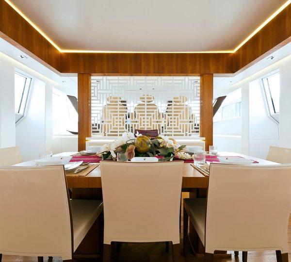 Yacht DIAMOND, an AB Yachts Superyacht (Fipa Group