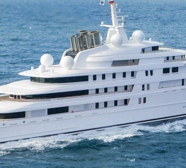 Yacht AZZAM, a 180m Lurssen Superyacht   CHARTERWORLD Luxury