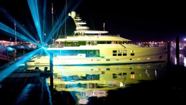 Yacht Big Fish Launch Celebrations