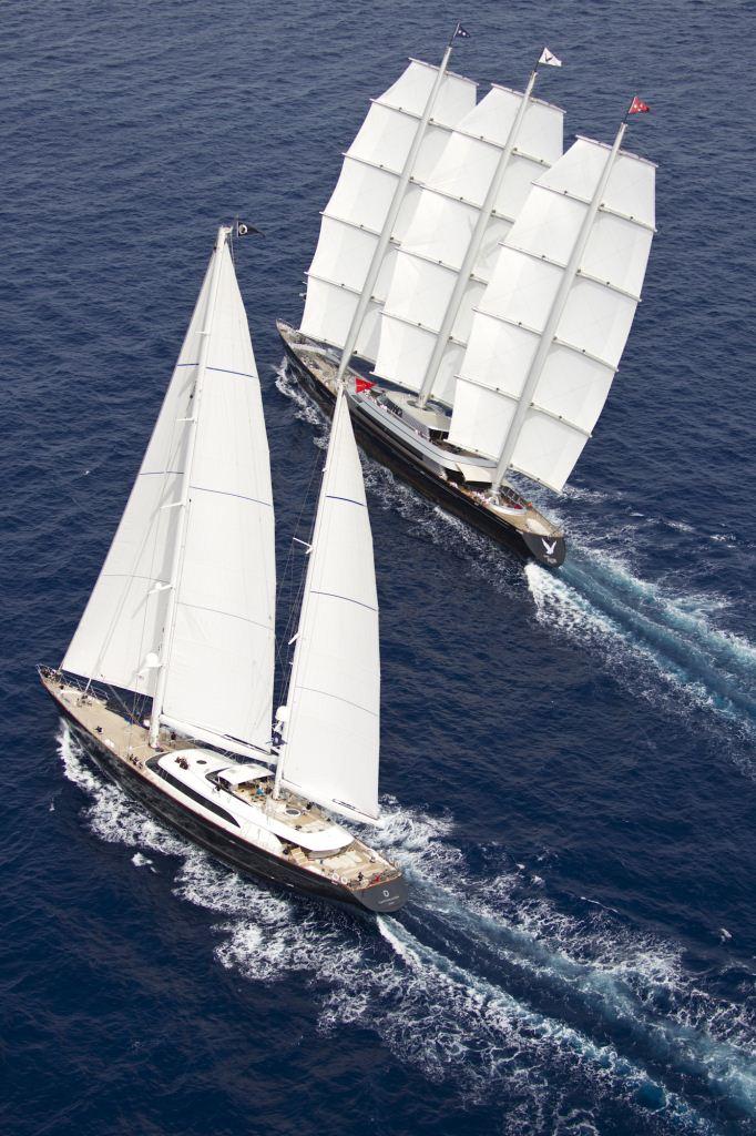 2011 Perini Navi Cup –Sailing Yacht Maltese Falcon Victorious