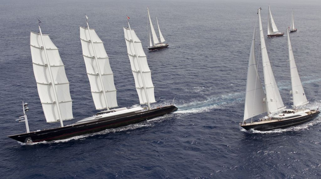 2011 Perini Navi Cup –Sailing Yacht Maltese Falcon Wins