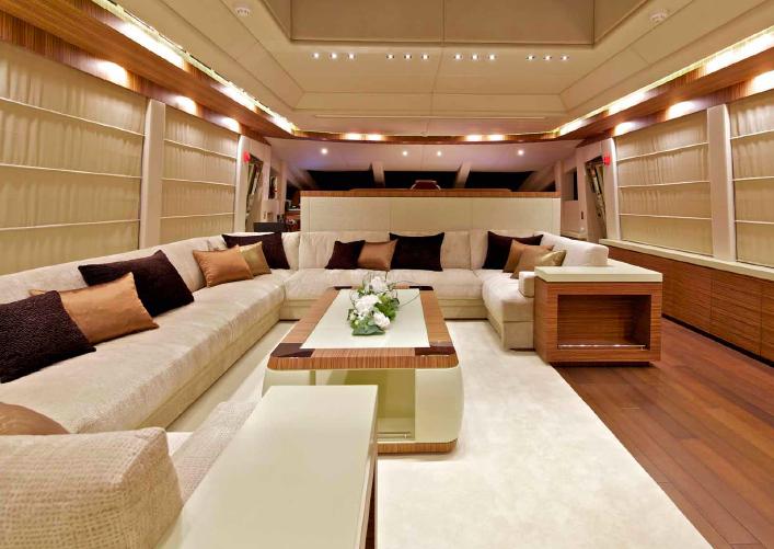 Charter Yacht O'Pati - Saloon
