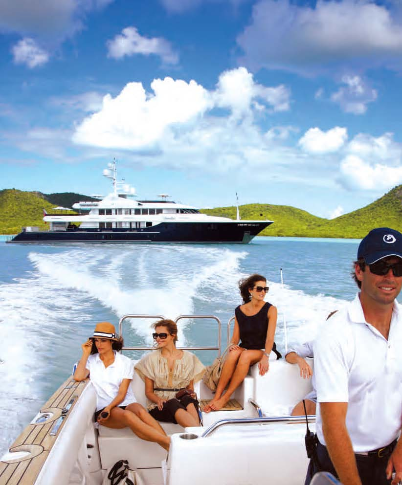 Motor Yacht Unbridled available in the South Pacific