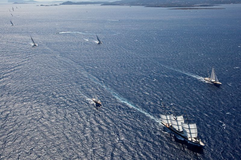 Maltese Falcon Superyacht Sailing