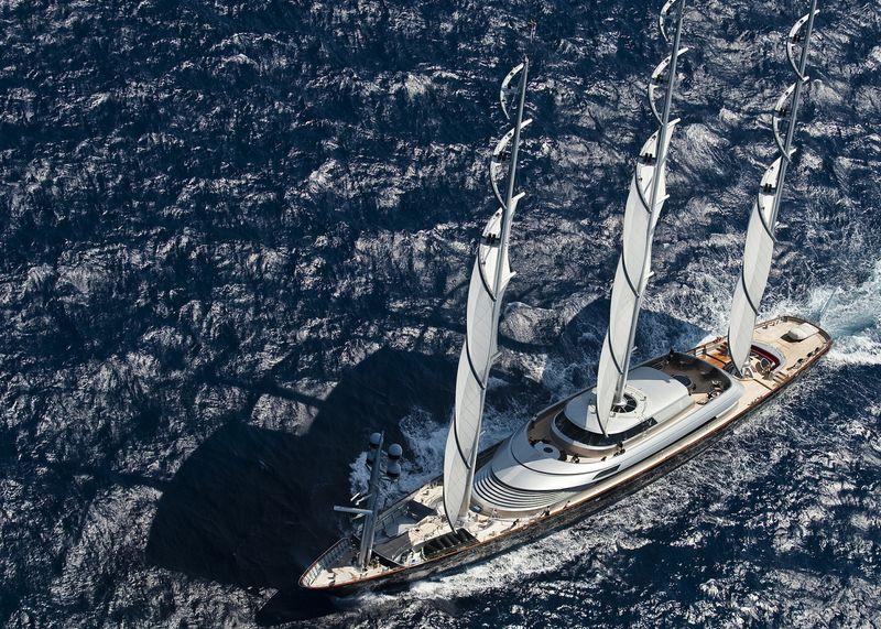 Superyacht Maltese Falcon