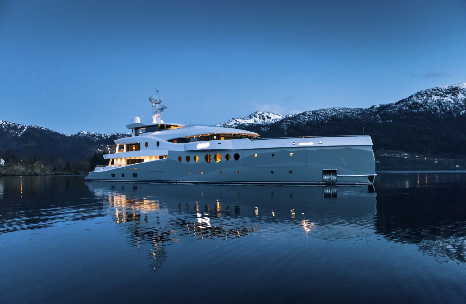 Luxury superyacht by Amels