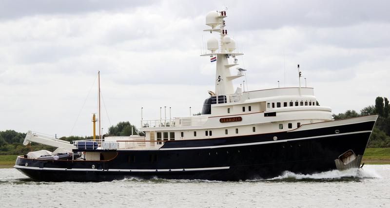 Luxury expedition yacht Seawolf
