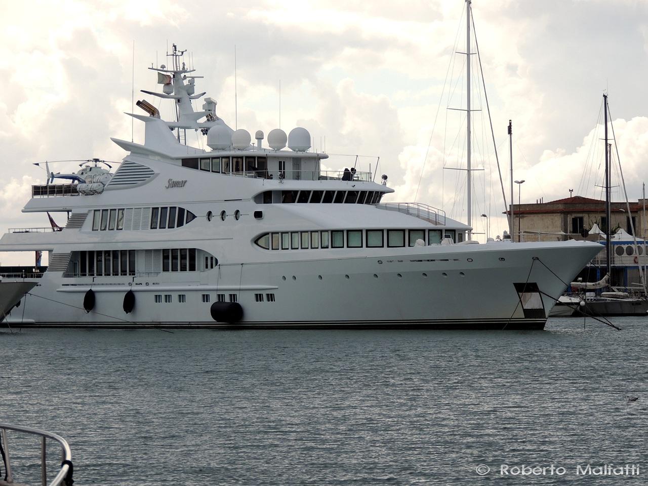 SAMAR yacht by Devonport Yachts - Photo by Roberto Malfatti