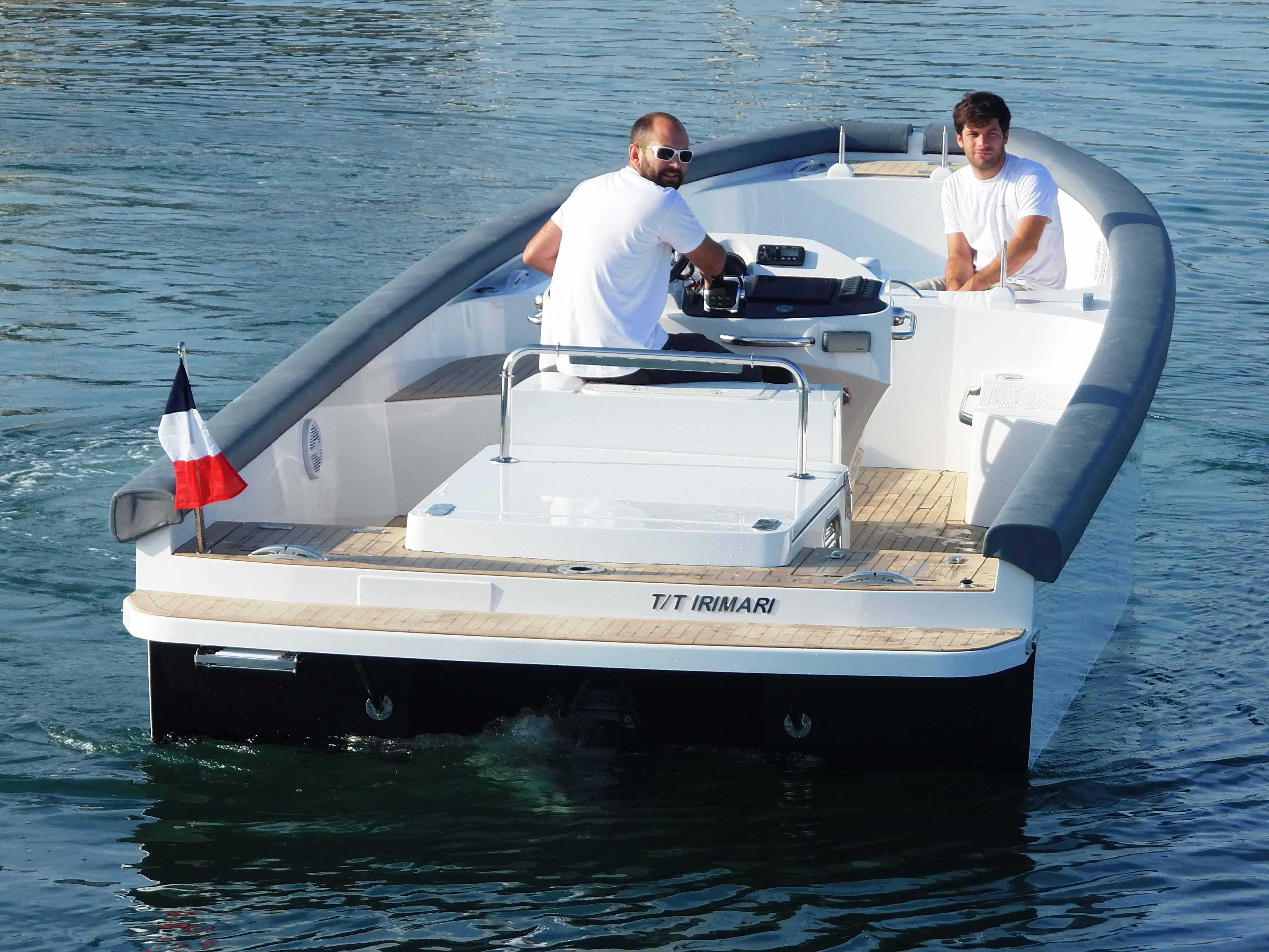 TS85 Open superyacht tedner for luxury yacht IRIMARI