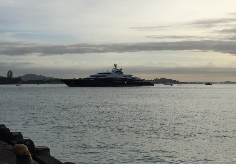 Mega yacht Serene is one of the world's largest private superyachts. Photo from APS NZ NZH