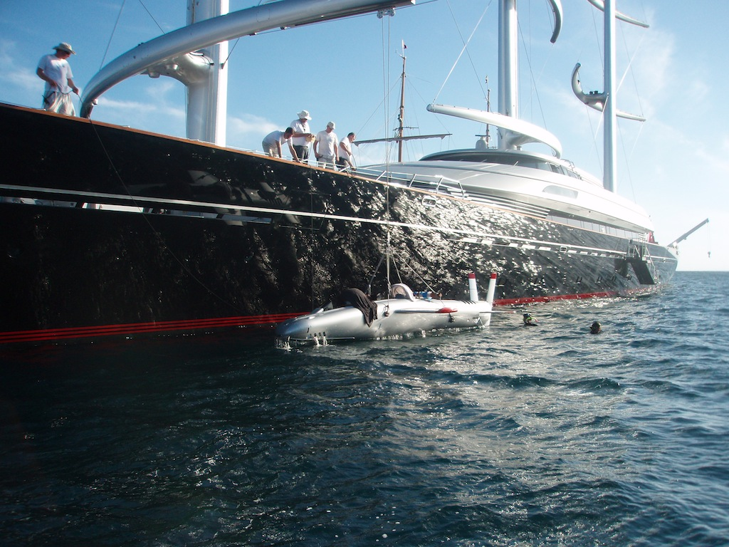 Launching of Super Falcon from Maltese Falcon