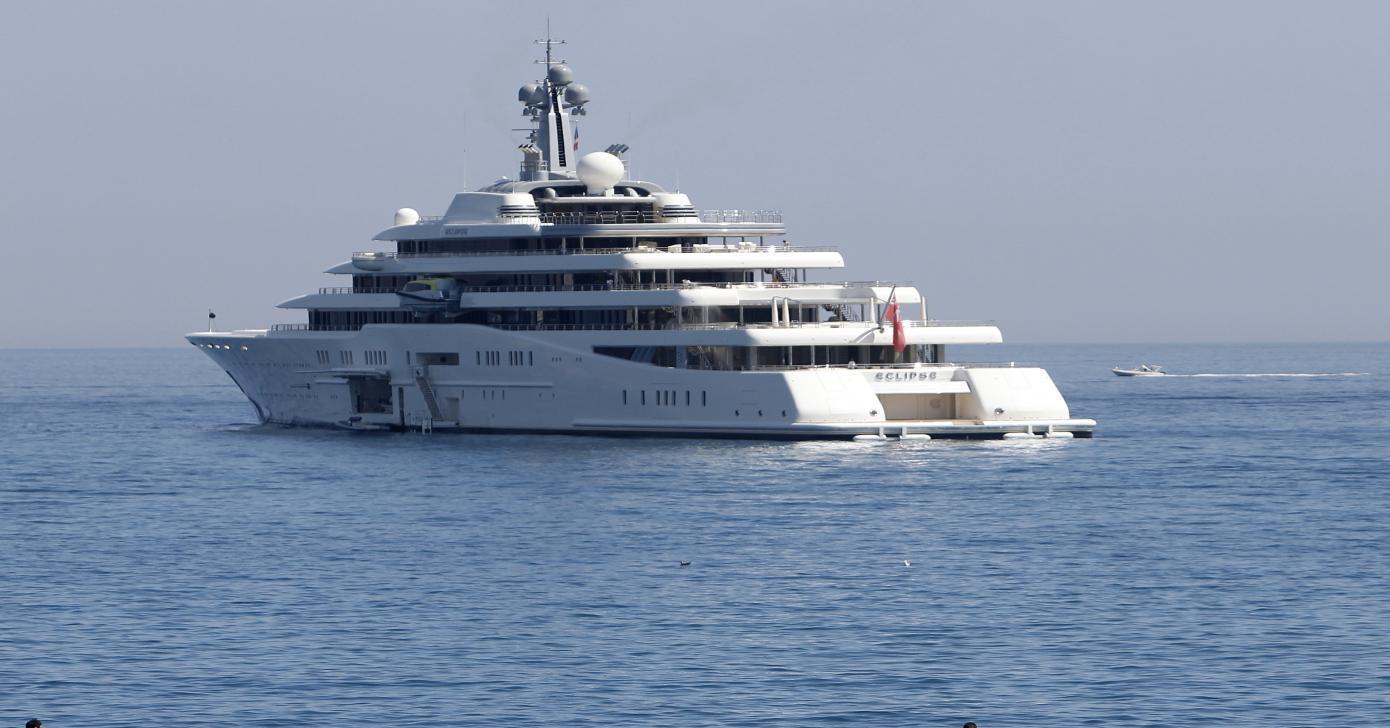Luxury superyacht Eclipse