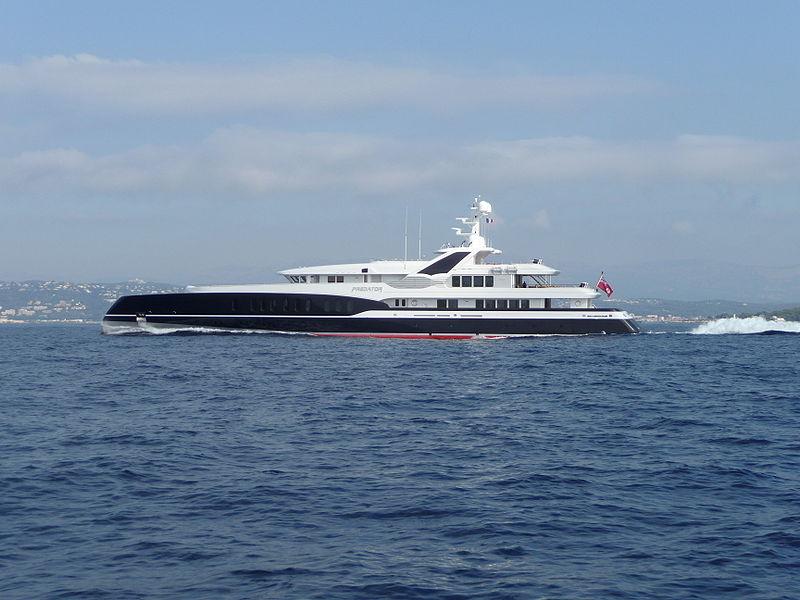 Yacht Predator Feadship Charterworld Luxury Superyacht Charters