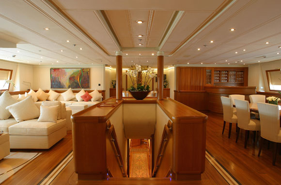 Yacht Mirabella V Vosper Thornycroft Charterworld Luxury Superyacht Charters