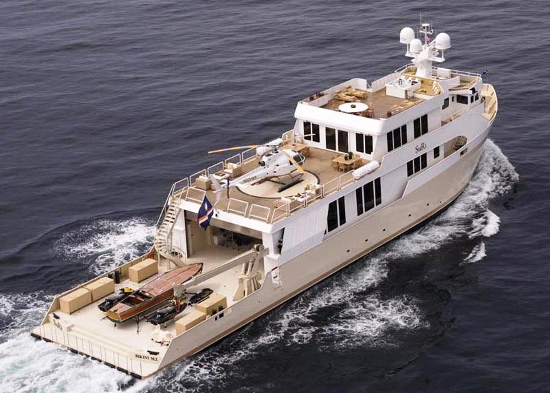 Yacht Suri Halter Marine Charterworld Luxury Superyacht