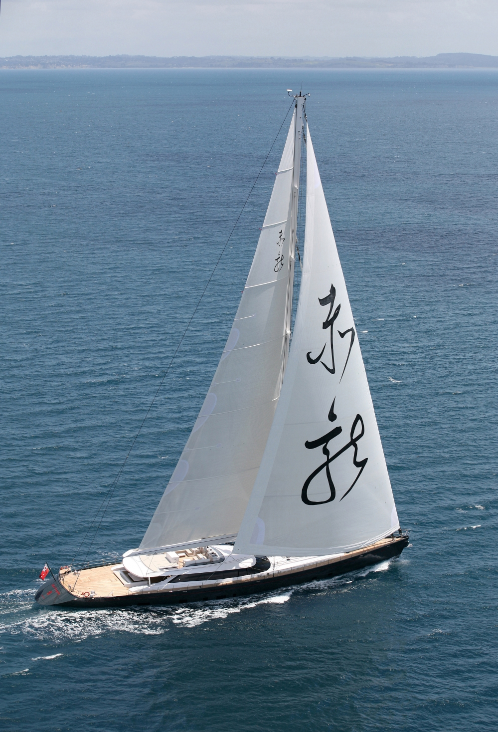 Yacht Red Dragon Image Courtesy Of Millenium Cup New Zealand