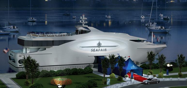 Yacht Seafair Grand Luxe Nichols Bros Boat Builders