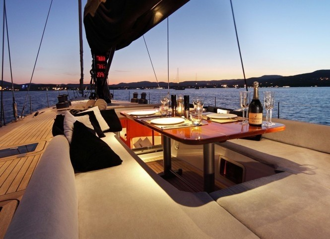 The 23m Yacht LUPA OF LONDON
