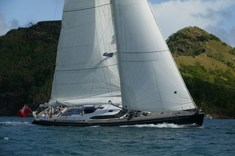 The 24m Yacht SI VIS PACEM