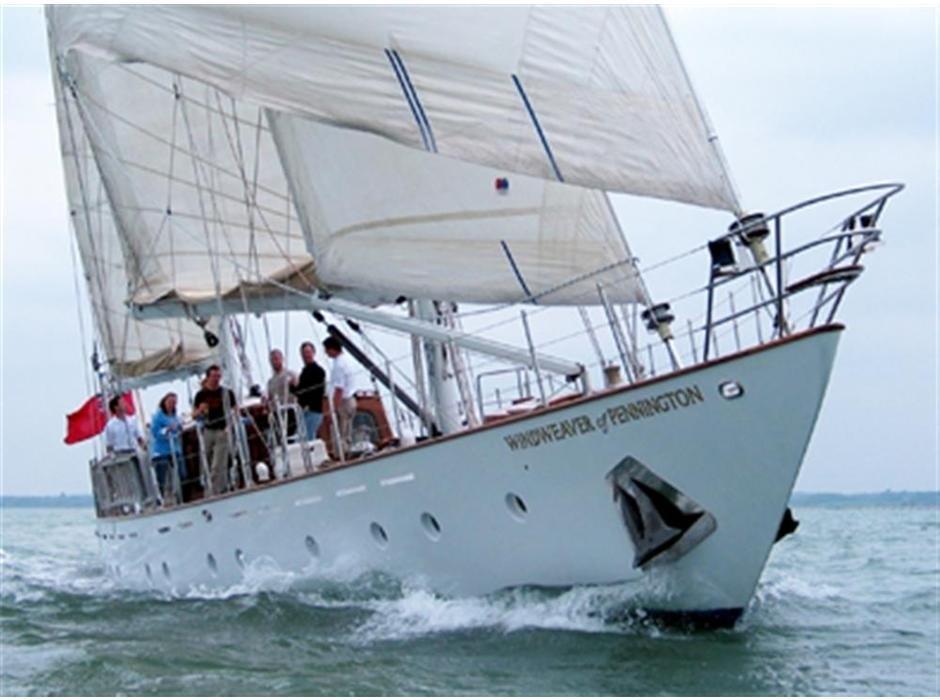 The 25m Yacht WINDWEAVER OF PENNINGTON