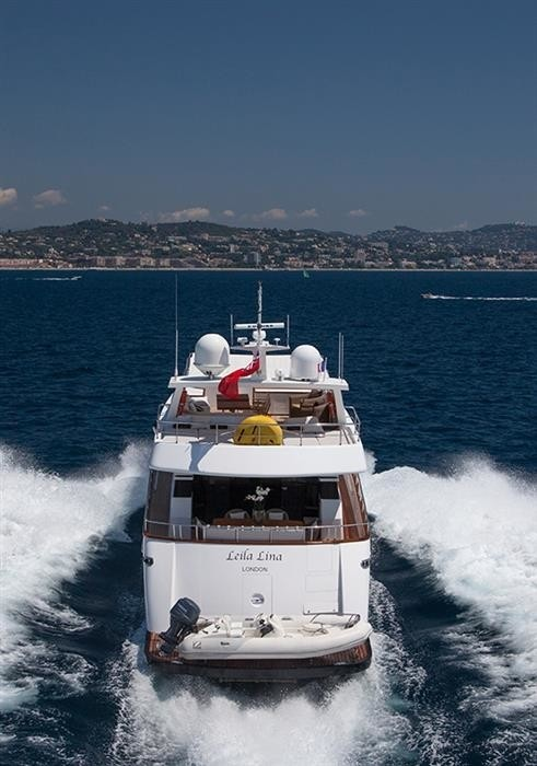 The 26m Yacht LEILA LINA