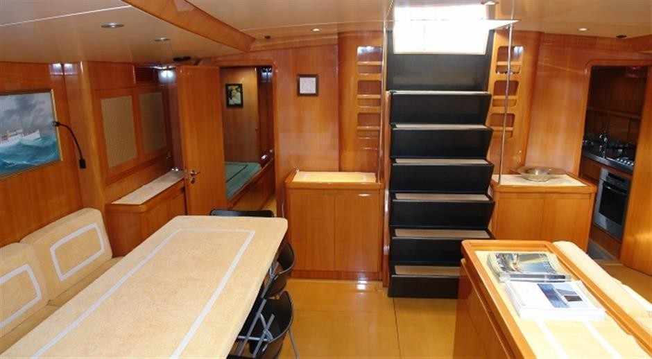 The 27m Yacht QUINTA SANTA MARIA