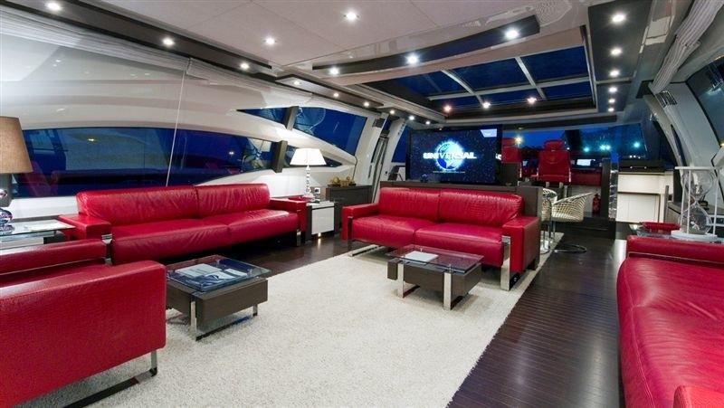 Inside Aboard Yacht GOGAMIGOGA