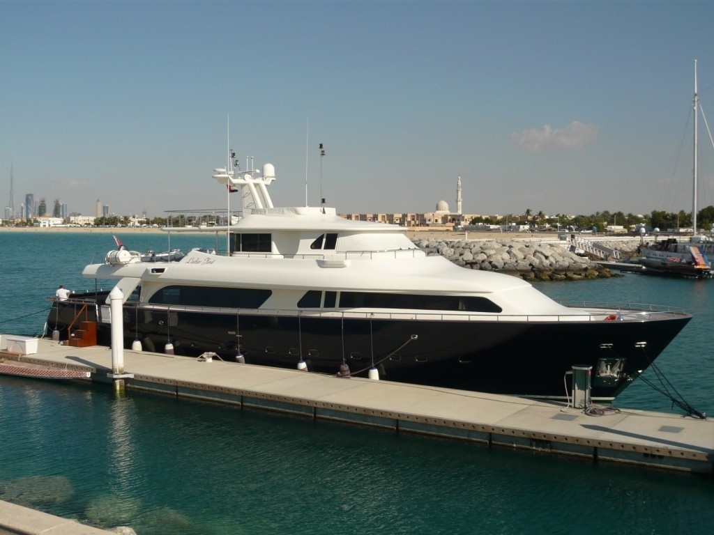 The 30m Yacht LADIES FIRST