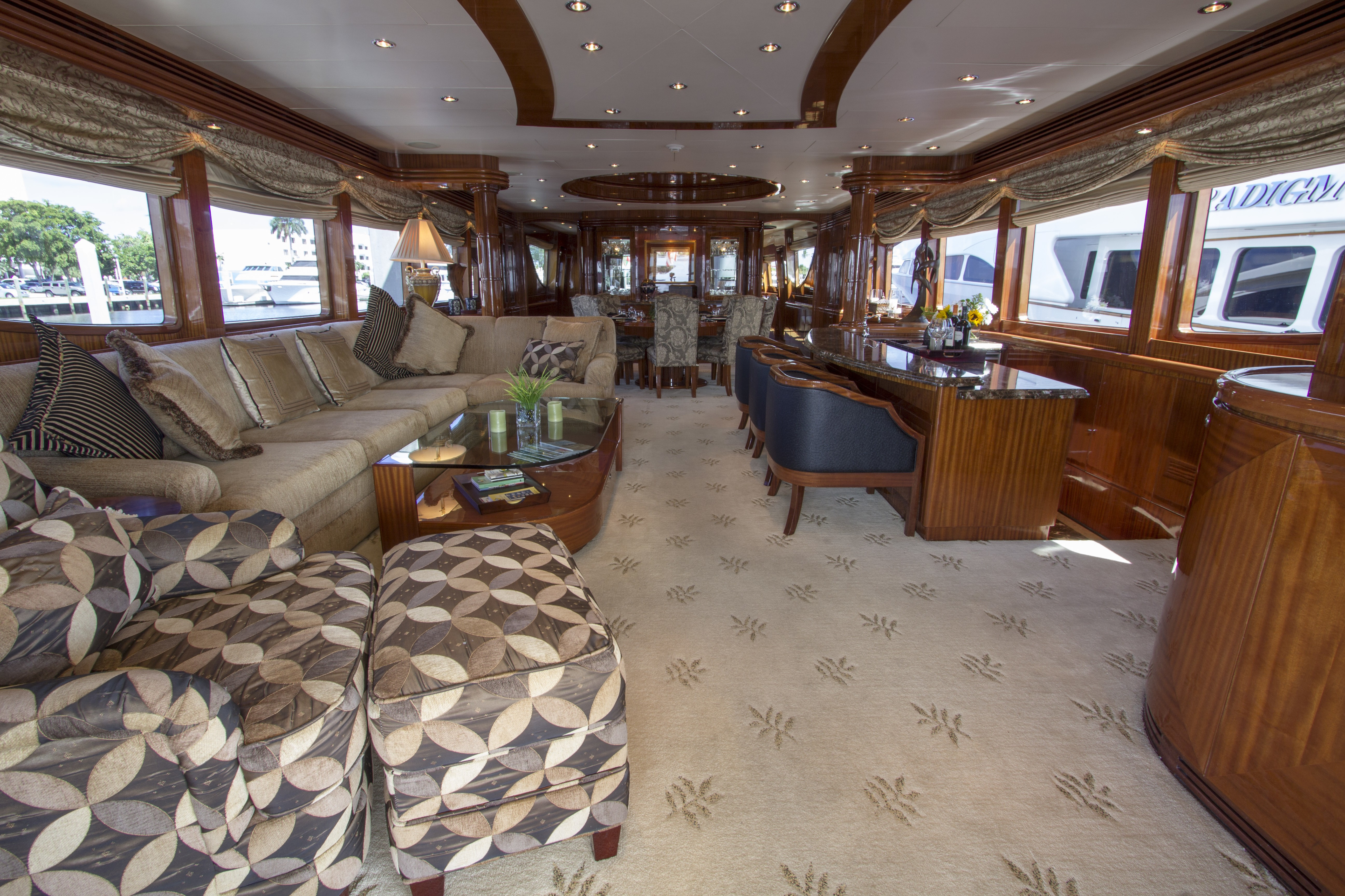 Inside On Yacht LIMITLESS