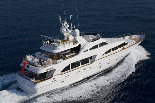 The 30m Yacht SALU