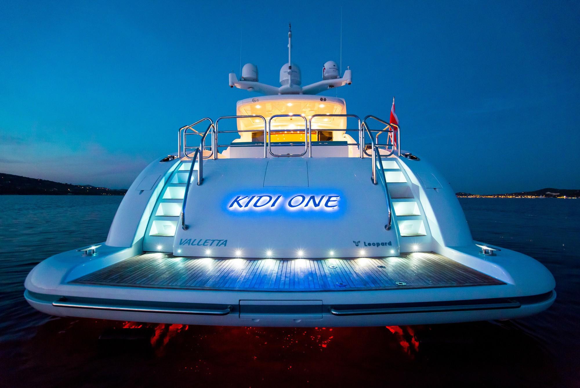 The 34m Yacht KIDI ONE