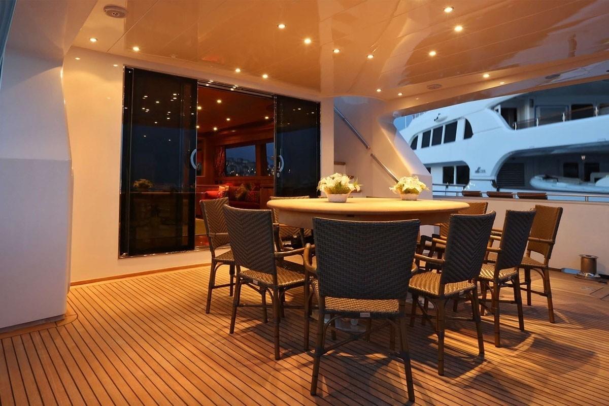 Deck Aboard Yacht SUMMER DREAMS