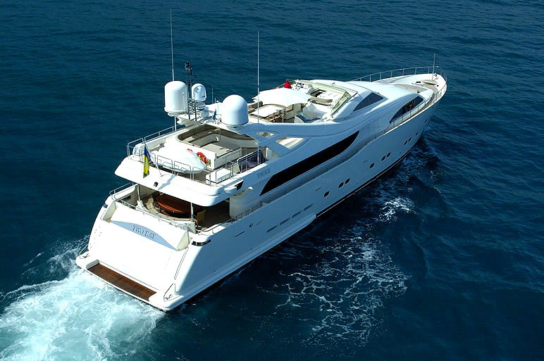 The 34m Yacht TWO KAY