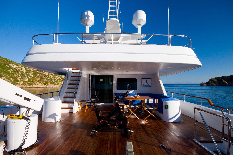 Life On Board Yacht ALCOR