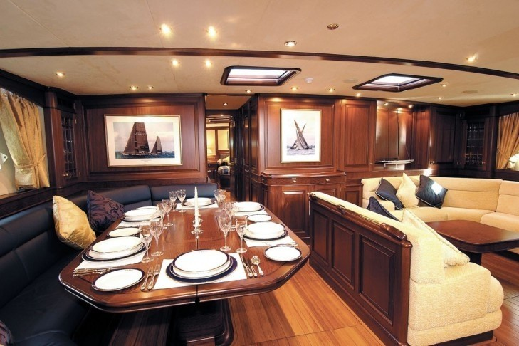 Saloon With Eating/dining On Yacht SOJANA