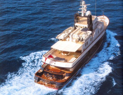 From Above: Yacht RH III's Cruising Image