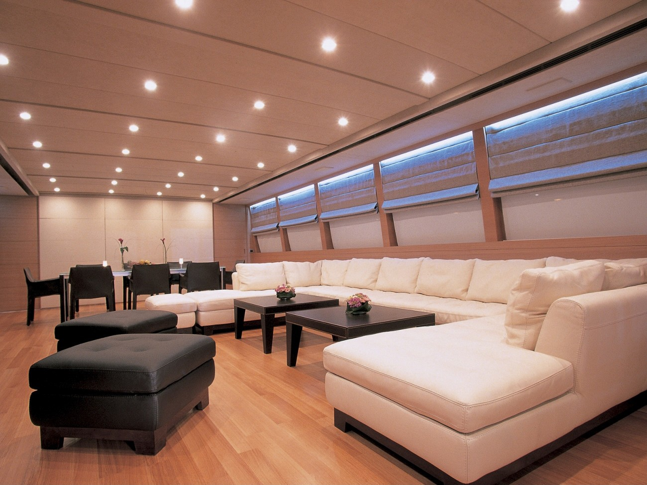 Saloon On Board Yacht SHELEILA