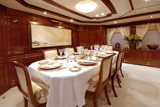 Formal Eating/dining On Yacht WILD THYME