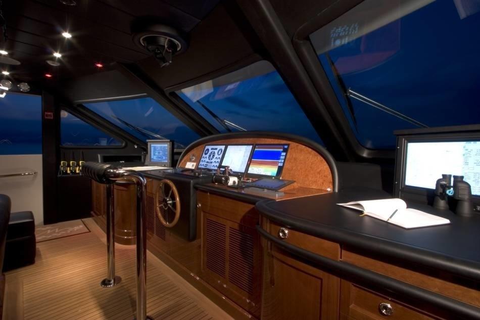 Pilot House On Yacht WILD THYME