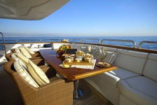 Aft Deck On Yacht WILD THYME