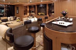 Drinks Bar On Board Yacht WILD THYME