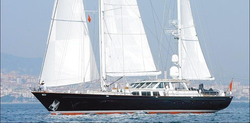 Profile On Board Yacht AXIA