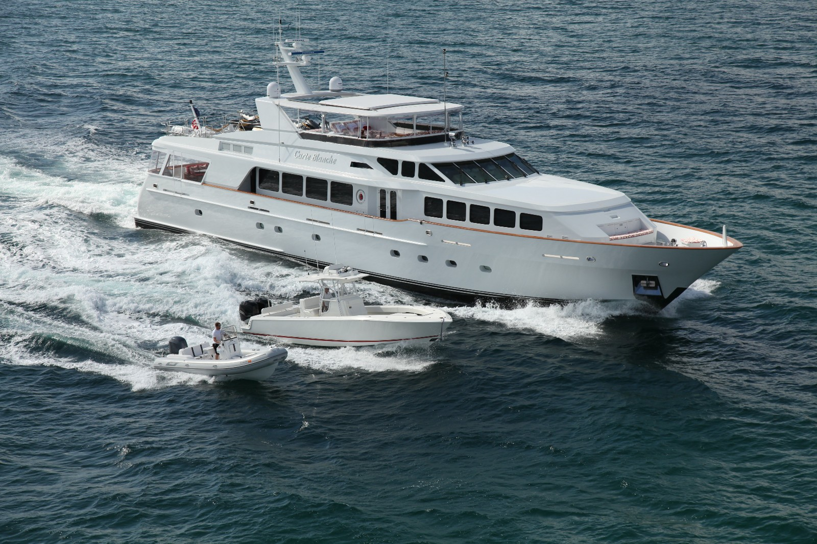 carte blanche yacht charter details  trinity yachts